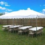 10x20 foot tent rental