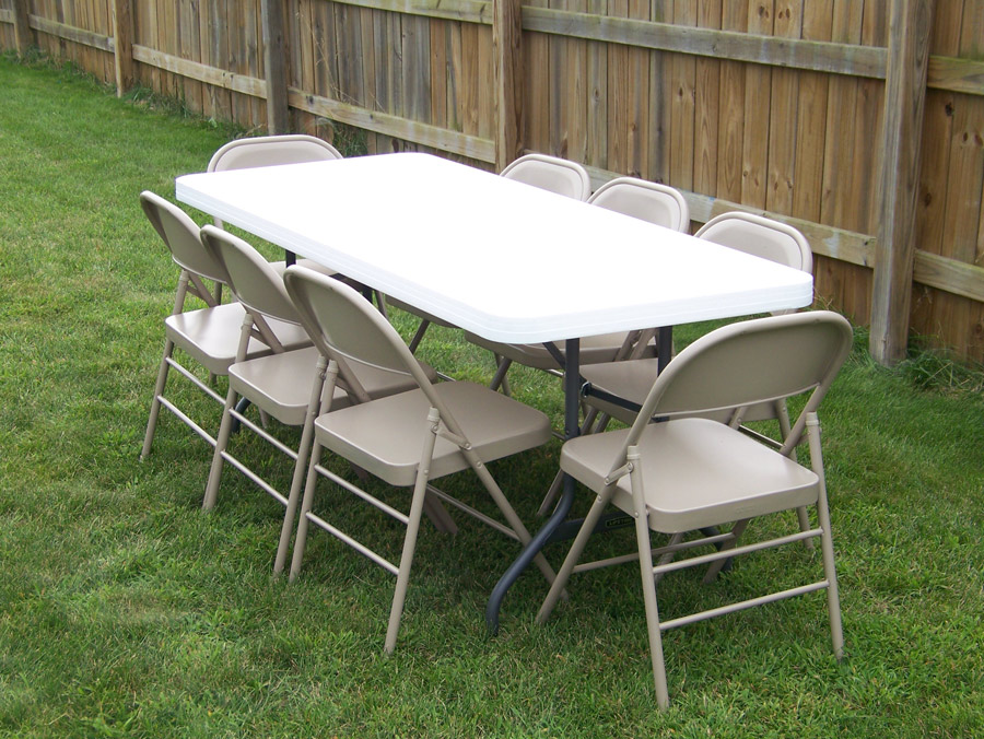 table and chair rental - michiana party rentals