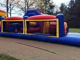rent this inflatable obstacle course